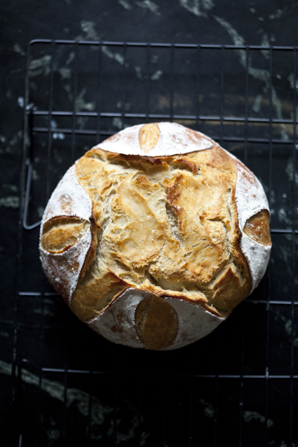Old dough boule | Breadin5 06
