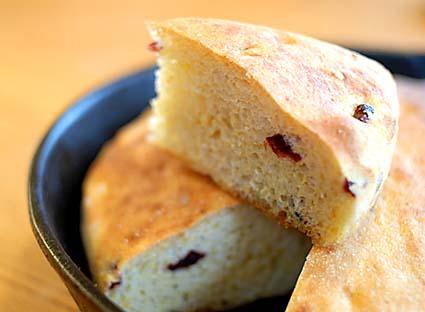 Cranberry Cornbread   Bread in 5