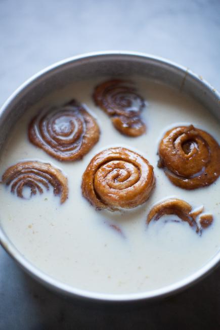 caramel rolls bread pudding | Breadin5 (1 of 8)