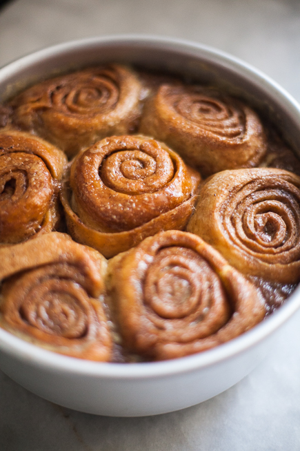 caramel rolls bread pudding | Breadin5 (3 of 11)