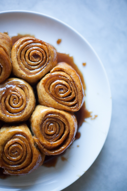 caramel rolls bread pudding | Breadin5 (4 of 8)