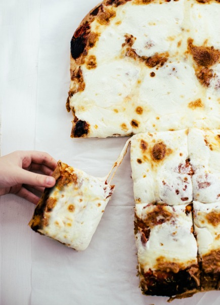 Assembling Sheet Pan Pizza | Artisan Bread in Five Minutes a Day