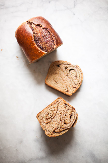 Nutella Swirl Bread  Breadin5 (2 of 9)