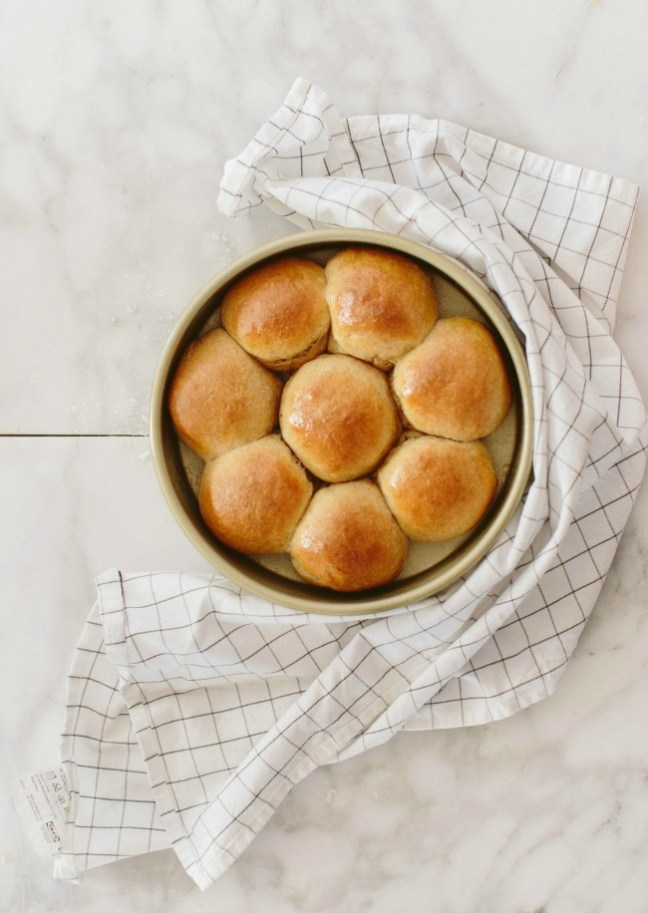 Easy Dinner Rolls - Whole Wheat Recipe | Artisan Bread in Five Minutes a Day
