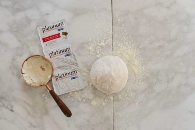 Dinner roll dough, flour and yeast | Artisan Bread in Five Minutes a Day