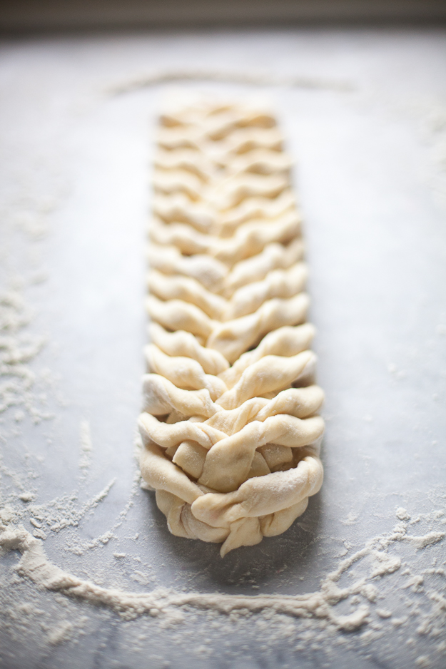 Raspberry Brioche Braid | Artisan Bread in Five Minutes a Day