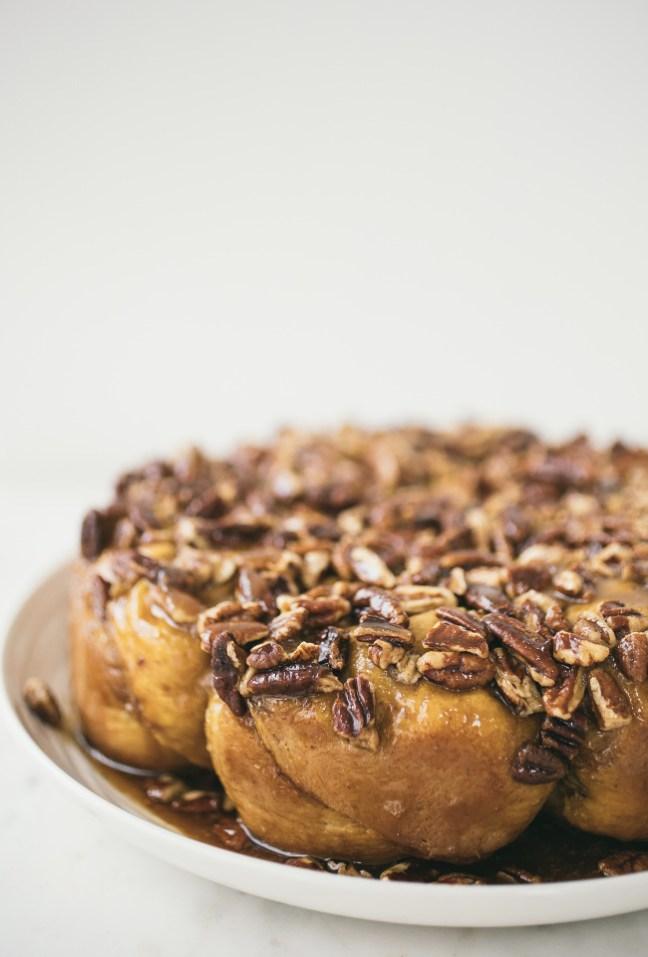 Pumpkin Sticky Nut Rolls | Artisan Bread in Five Minutes a Day