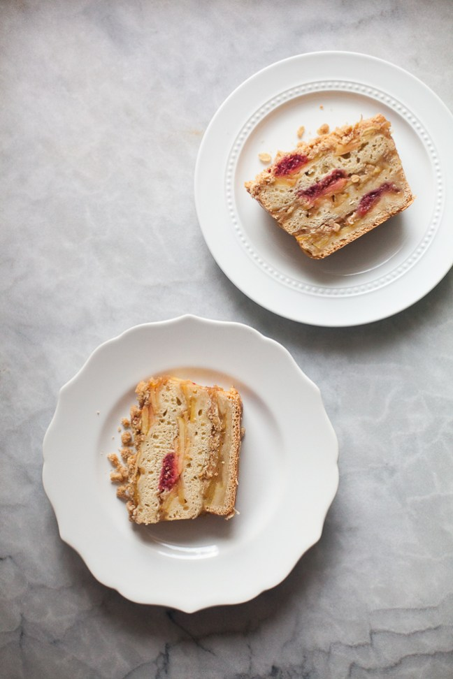 Sliced Cranberry-Apple Coffee Cake Recipe | Artisan Bread in Five Minutes a Day