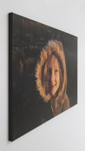 Canvas girl unique custom photo gifts from a Professional Printing Company