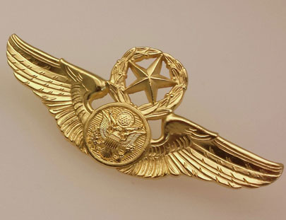 22kt Trophy Grade Aircrew Wings