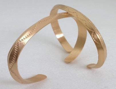 Satin Finish Silver Bracelets