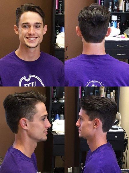 Artisan Salon men's hair cut