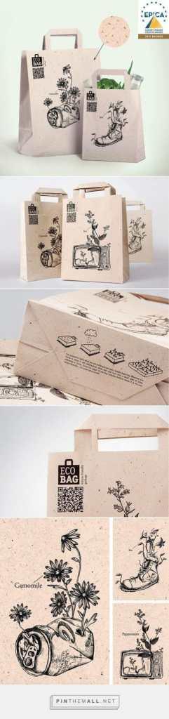 Sacs en papier Kraft custom