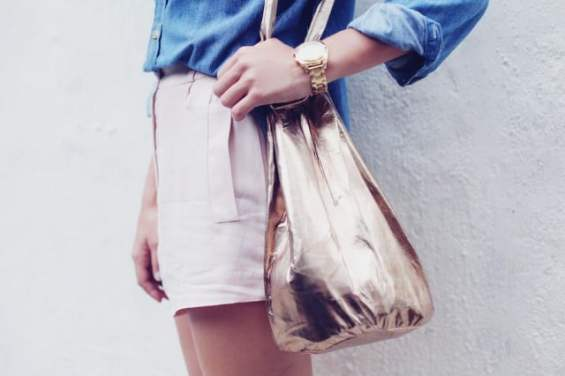 diy sac en cuir bucket bag