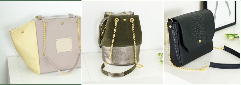 Exemple de plusieurs sacs atelier Amand