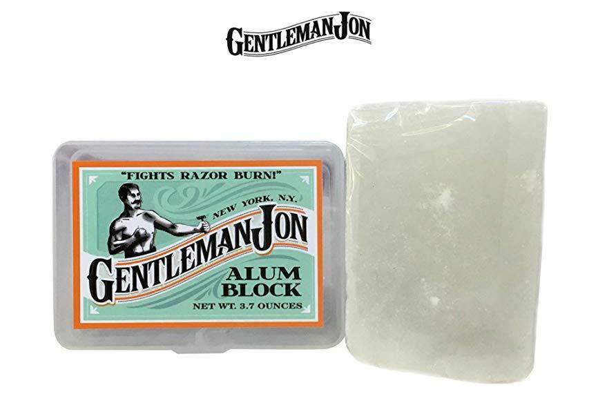 Gentleman Jon Alum Block 3.7 Ounce