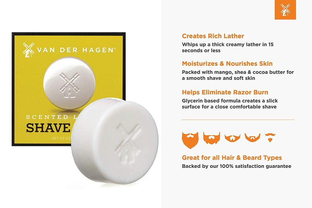 best shaving soap Van Der Hagen