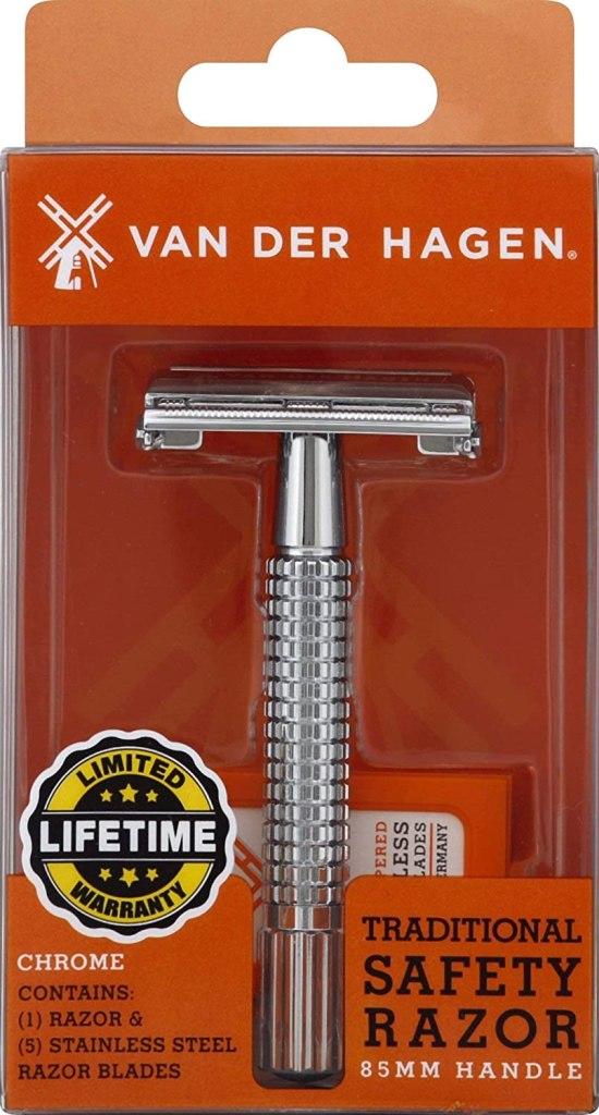 Van der hagen safety razor