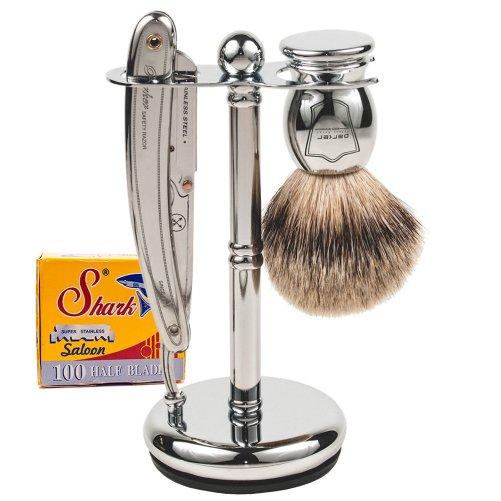 Parker SR1 Straight Edge Razor Shave Set