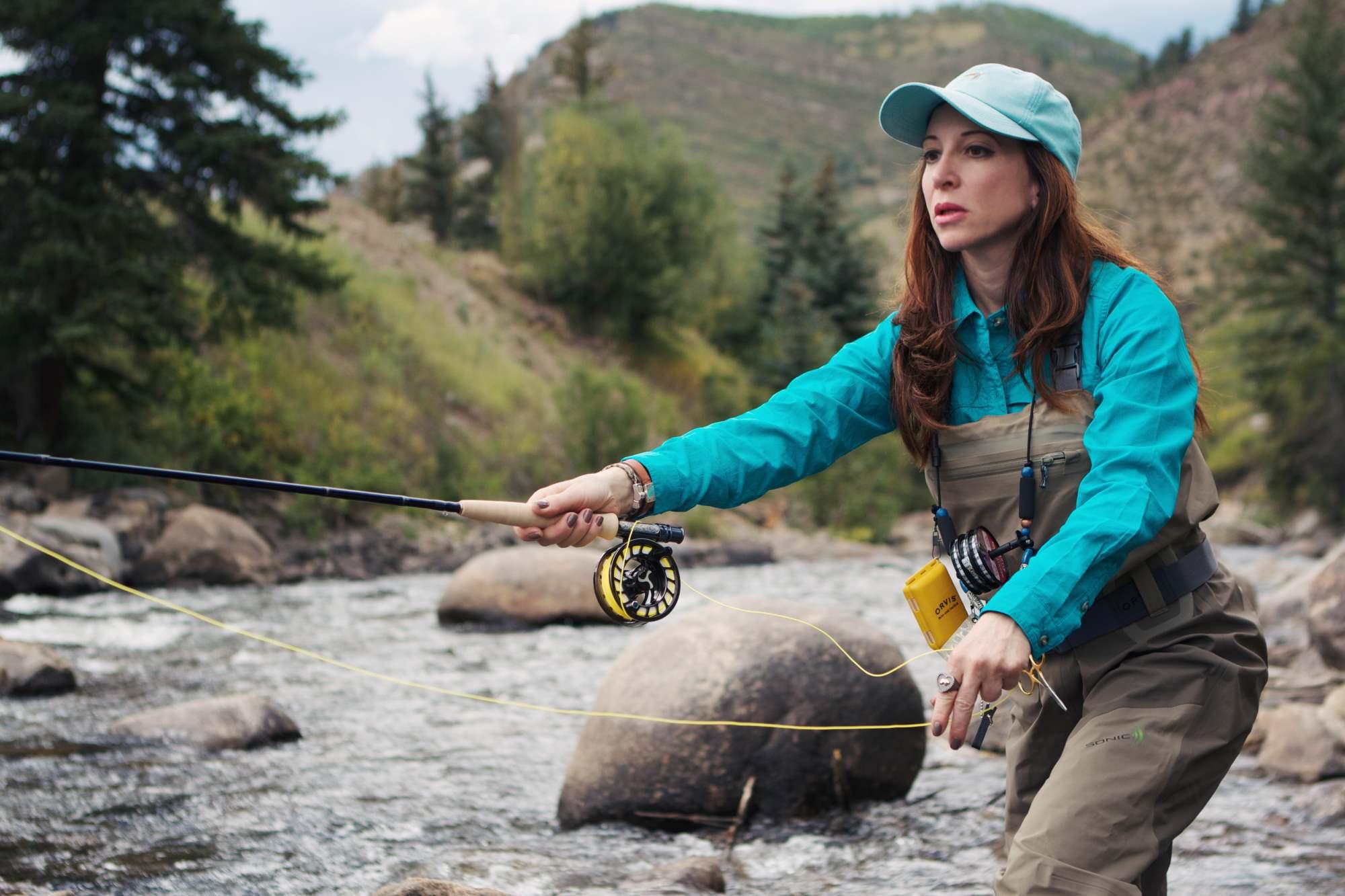 Marla Meridith Fly Fishing for Women Orvis Gear