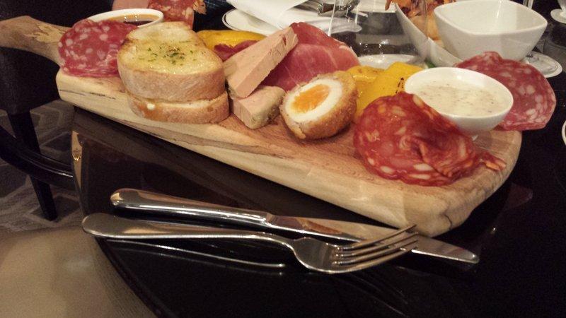 scotch eggs breakfast platter