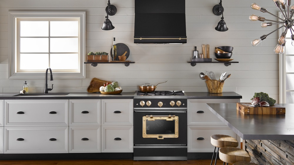 big chill classic black range stove