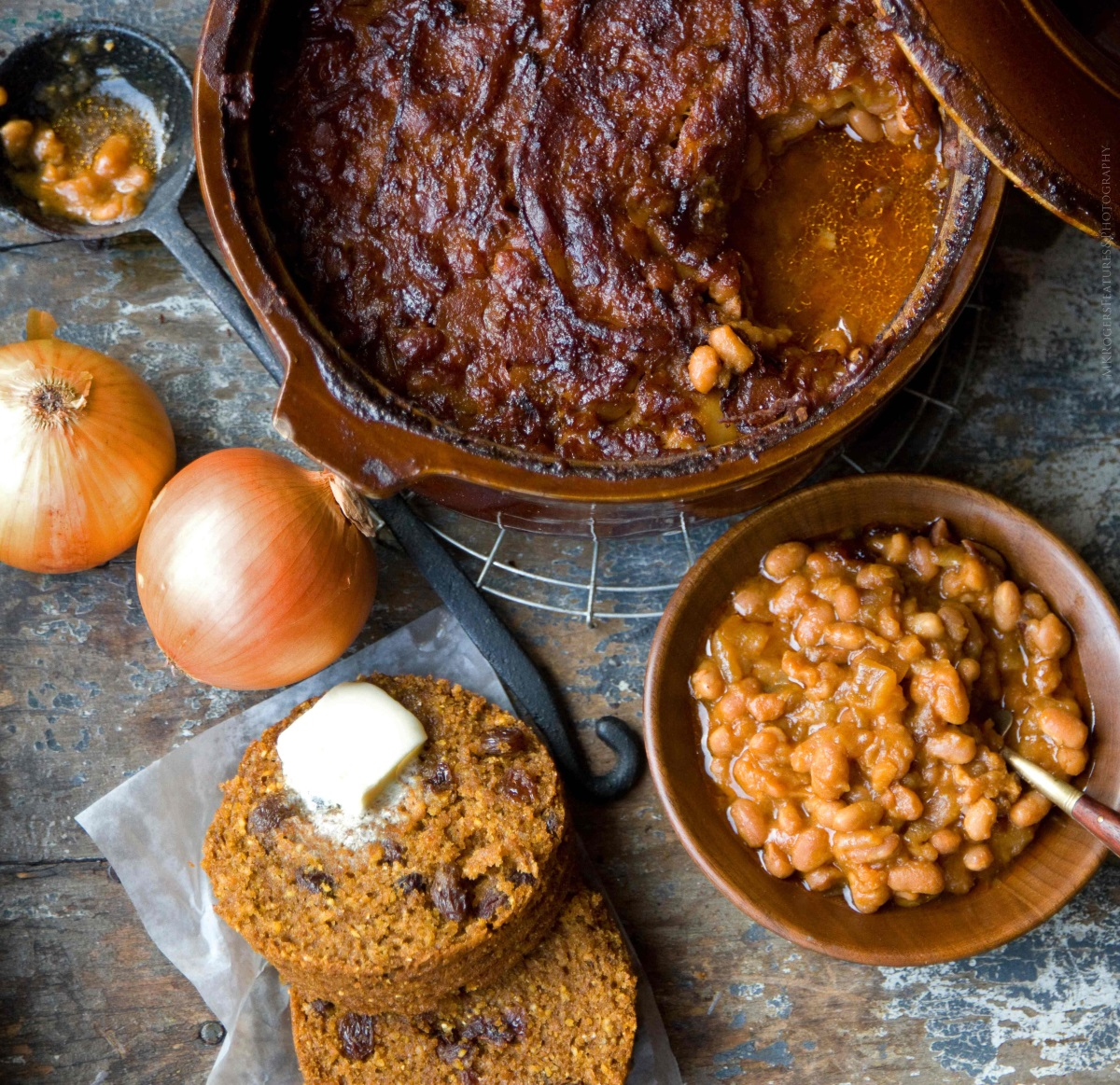 Boston Baked Beans and Brown Bread in a can Monica Rogers Kass