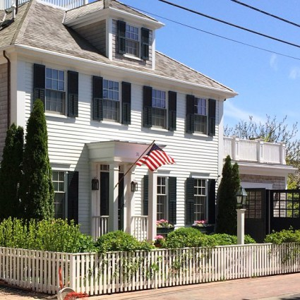 Edgartown, Massachussets, where every house is historically charming
