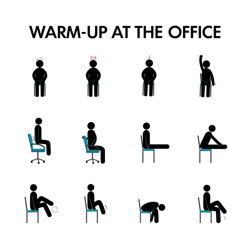Healthy Work Fitness At The Office