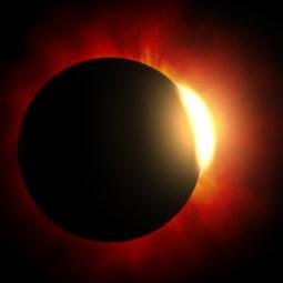 Слънчево затъмнение в Козирог