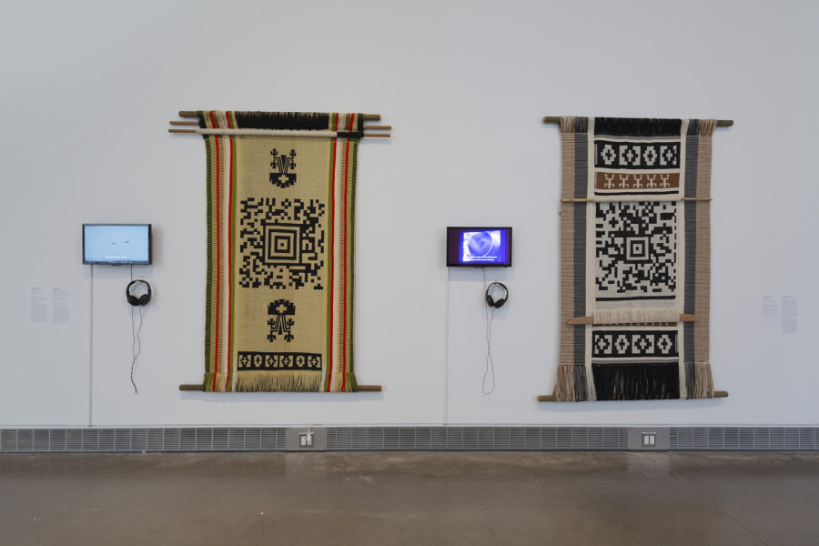 Guillermo Bert at Mundos Alternos: Art and Science Fiction in the Americas. Exhibition view: Queens Museum, New York, 2019. Courtesy: Queens Museum