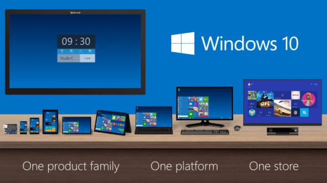 Windows 10 platforms