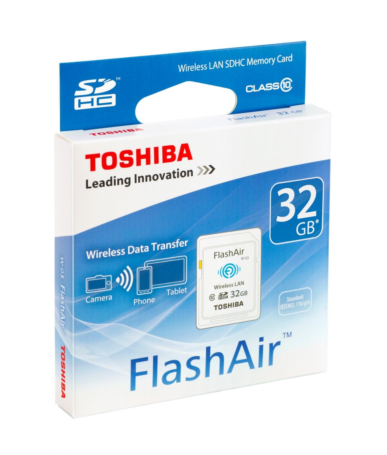 Toshiba FlashAir Wireless SD Card   David Artiss