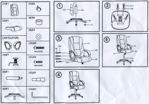 Xenta-Office-Chair-Instructions