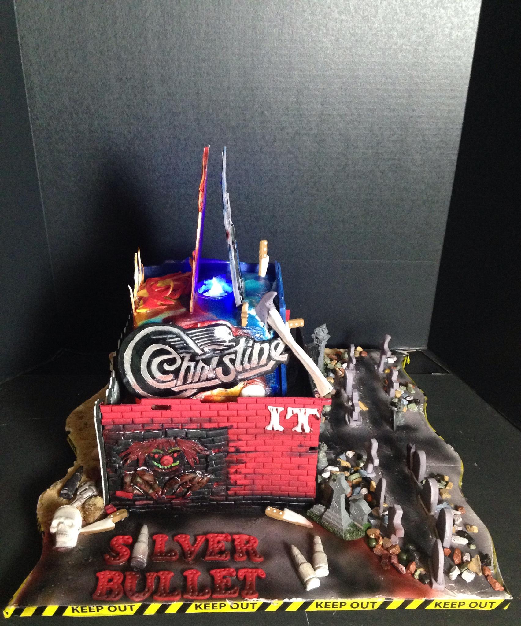Stephen King Cake Https Www Facebook Com