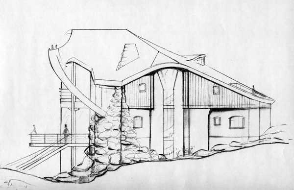 Фото нарисованного дома карандашом – Как нарисовать дом ...