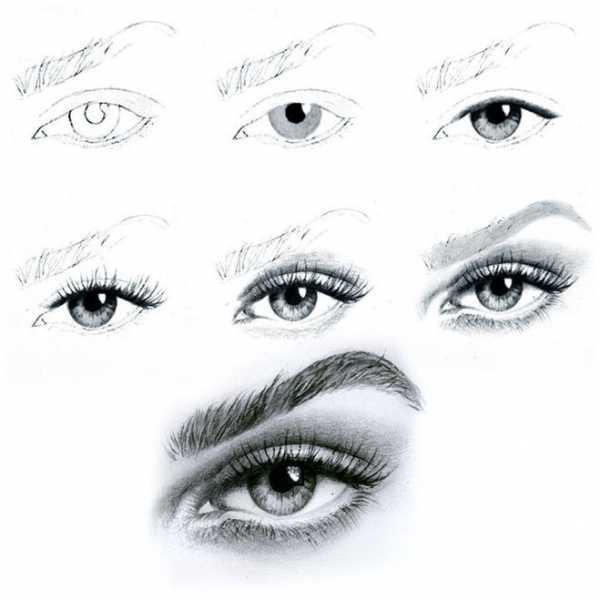 Глаз рисовать карандашом – Как нарисовать глаз человека ...