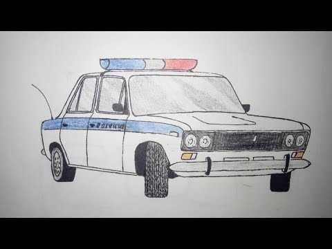 Как нарисовать жигули карандашом поэтапно – Как нарисовать ...