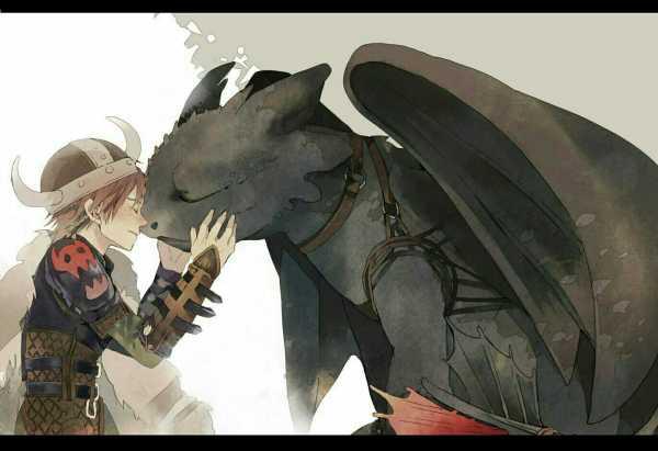Картинки дракона беззубика из мультика как приручить ...