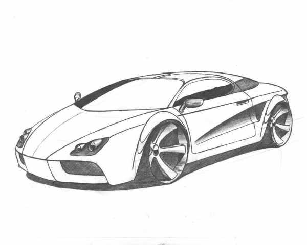 Малюнок машина – Ой!
