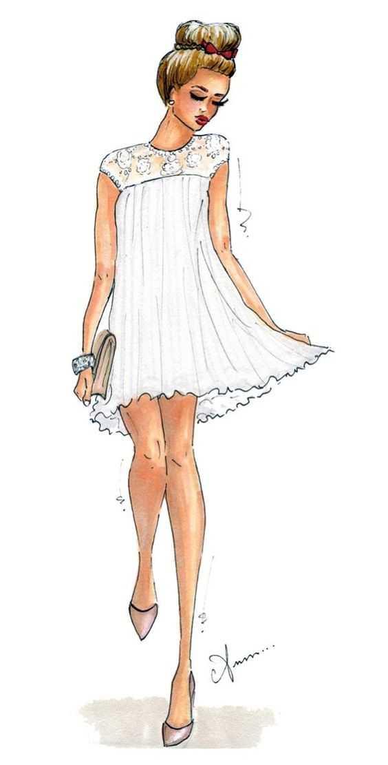 Нарисовать девушку в полный рост – Картинки девушки ...