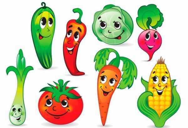 Рисунки овощи и фрукты детей – Мультяшные детские картинки ...