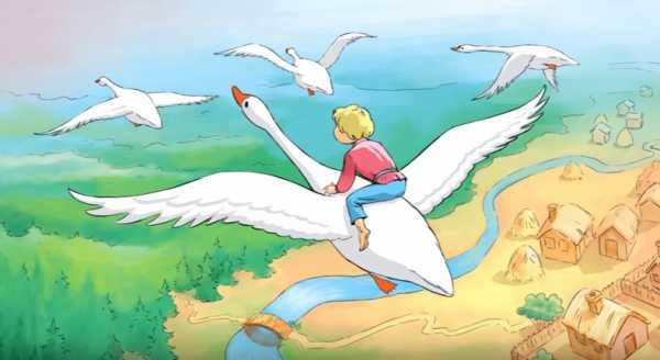 Рисунок на тему гуси лебеди 2 класс – Как нарисовать ...
