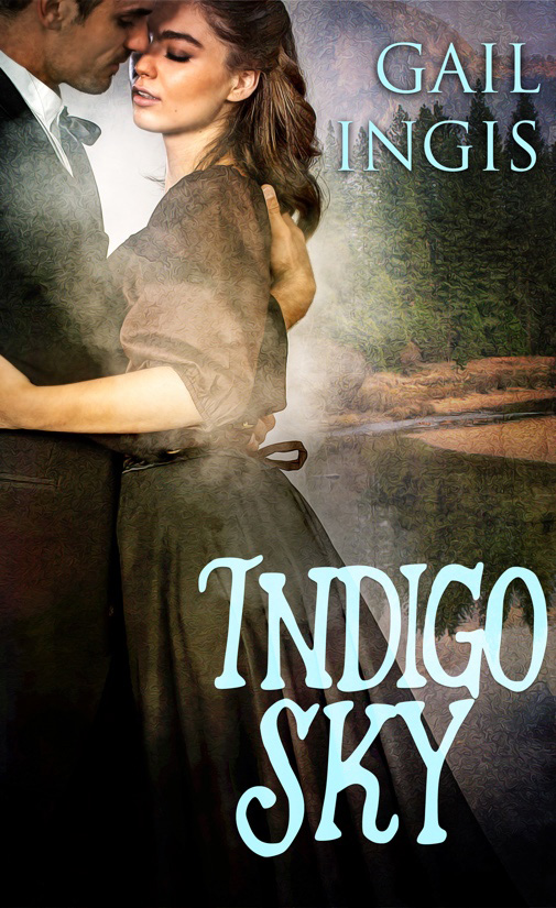 Bookcover Indigo Sky by author Gail Ingis