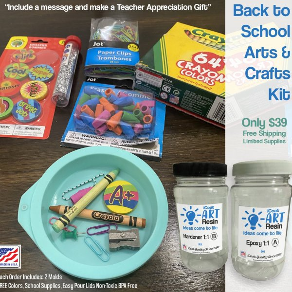 Back to school epoxy kit