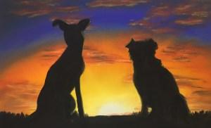 Sunset Friends