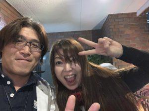 浅井理恵子さんと