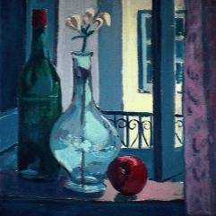 Quiétude - 1984 Acrylique sur toile 41cm X 51cm Louis Fortier