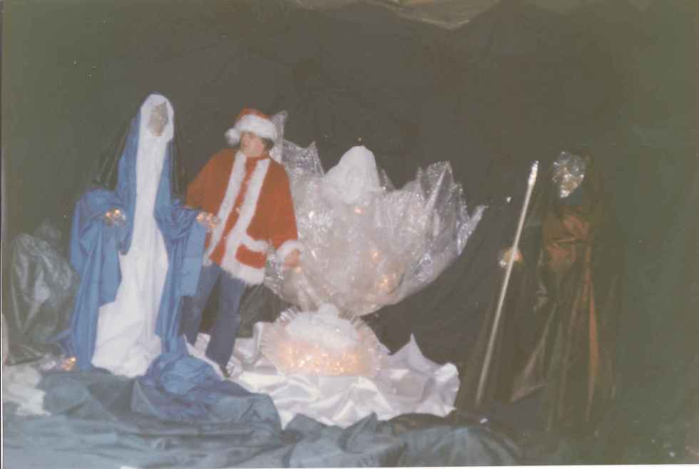 Crèche de Noël Galeries de la Canardière Novembre 1992 Photo 1