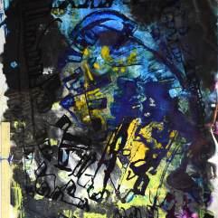 L'ombre - 1994-1997 Acrylique sur acétate 51cm X 61cm Louis Fortier PRIX : 425$